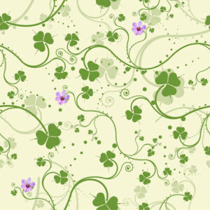 Green-Floral-Vector-Background