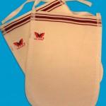 bath kelebek exfoliator glove